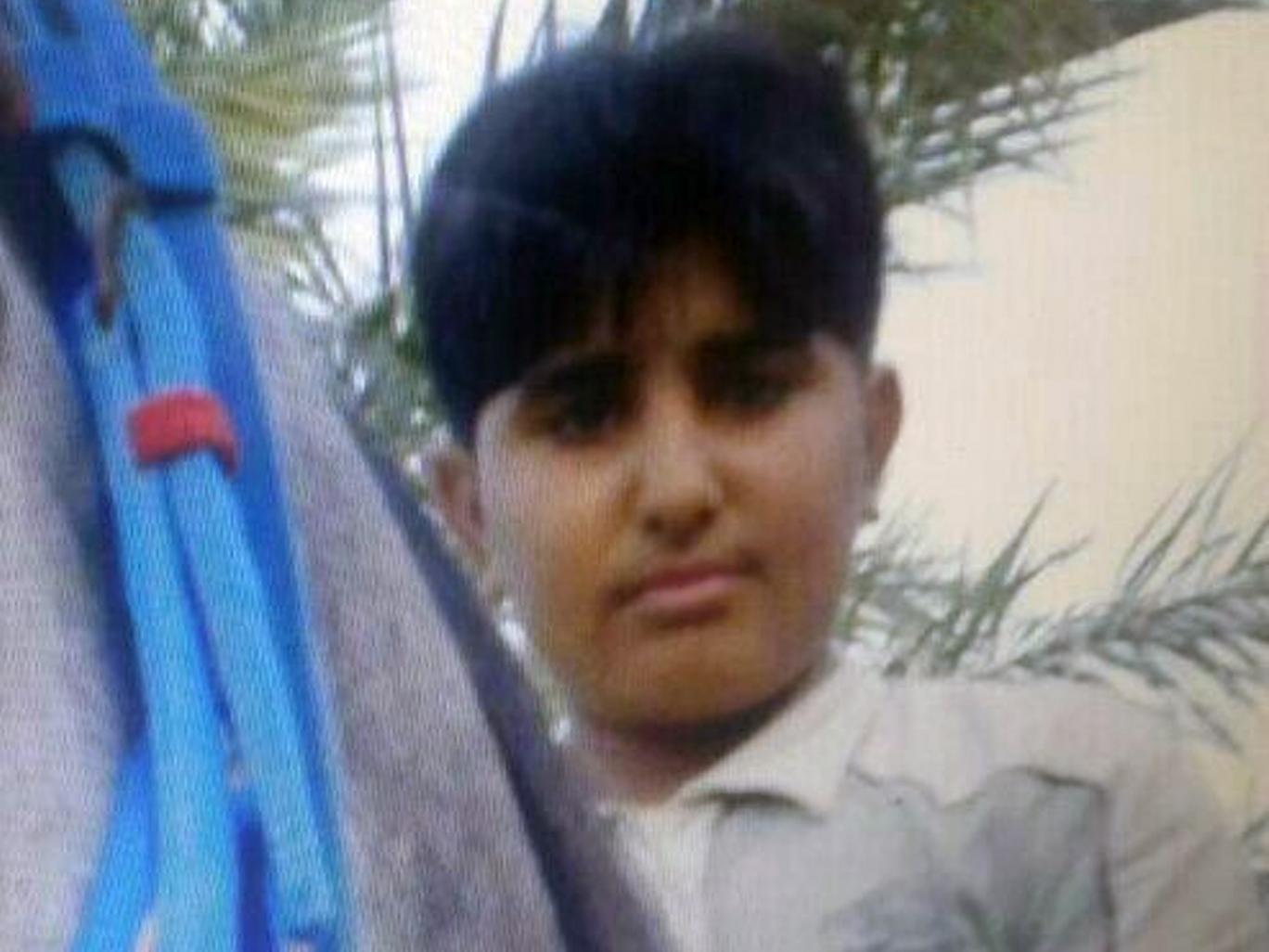 Saudi teen looks