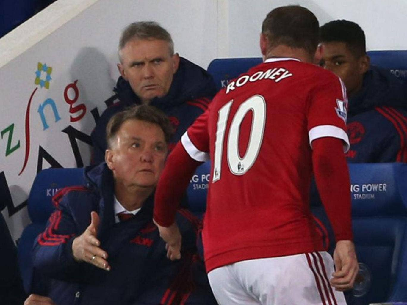 Wayne Rooney Latest Louis van Gaal latest Wayne Rooney insists players are fighting for
