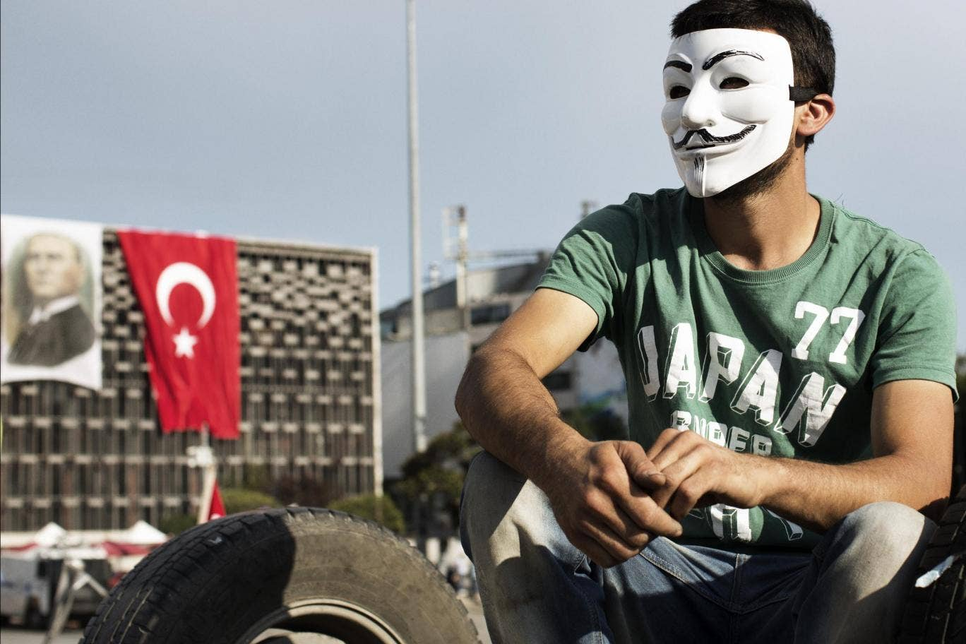 Anonymous declares cyberwar on Turkey