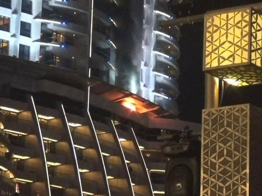 Dubai Investigates Cause Of 63-Storey Luxury Hotel Fire