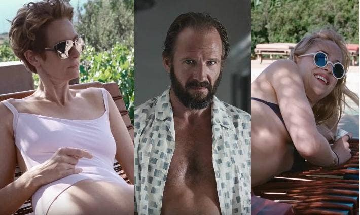 A bigger splash trailer tilda swinton ralph fiennes and for Film a bigger splash
