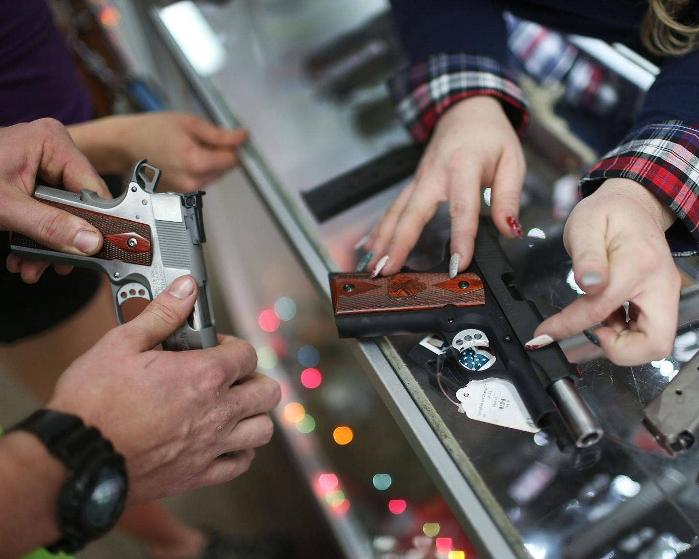 US gun sales soar