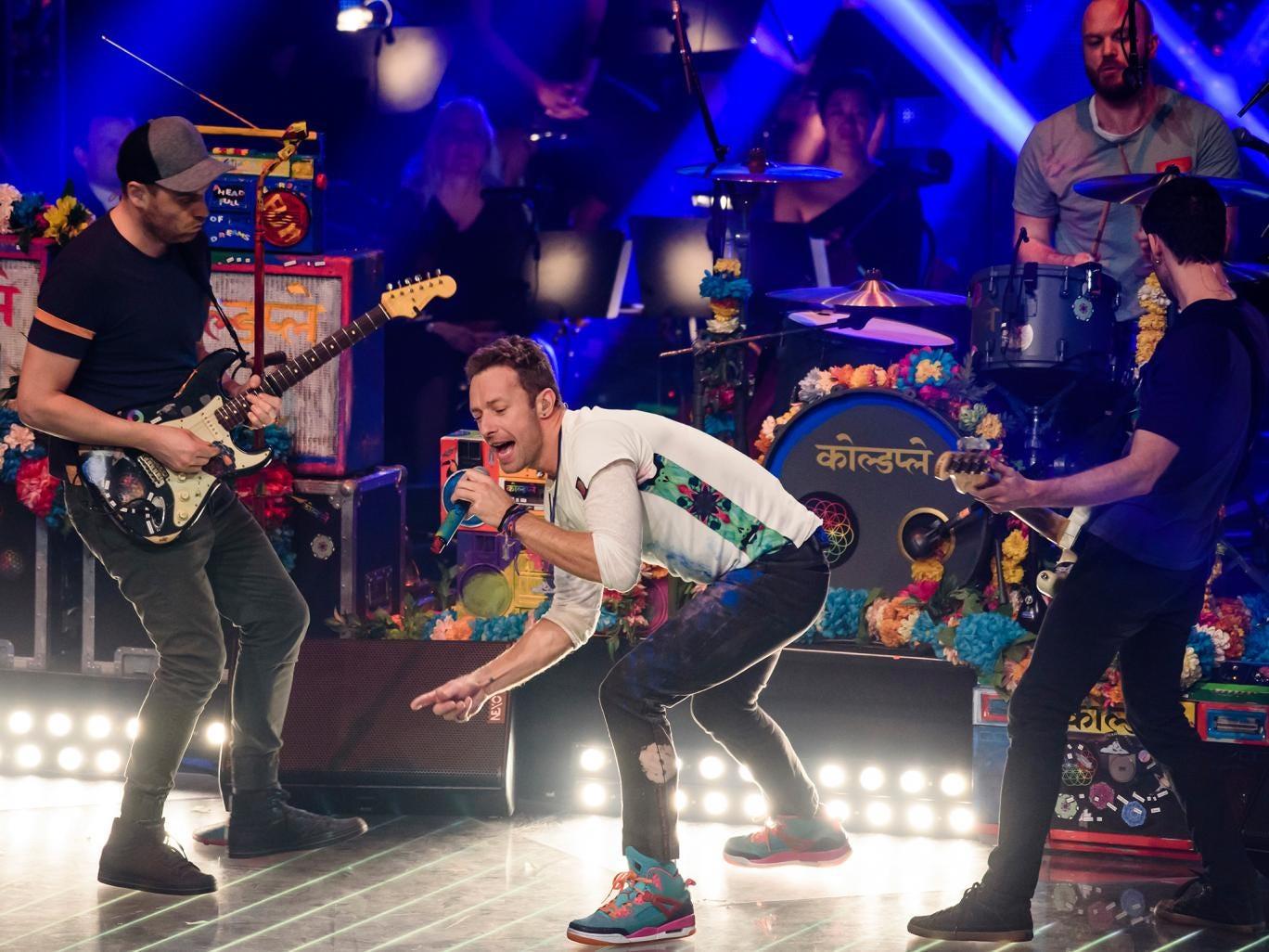 """COLDPLAY SERÁN LOS """"GOLDLIKE GENIUS"""" NME 2016"""