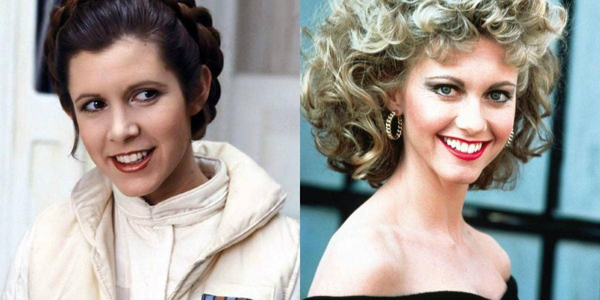 carrie fisher almost played sandy in grease news