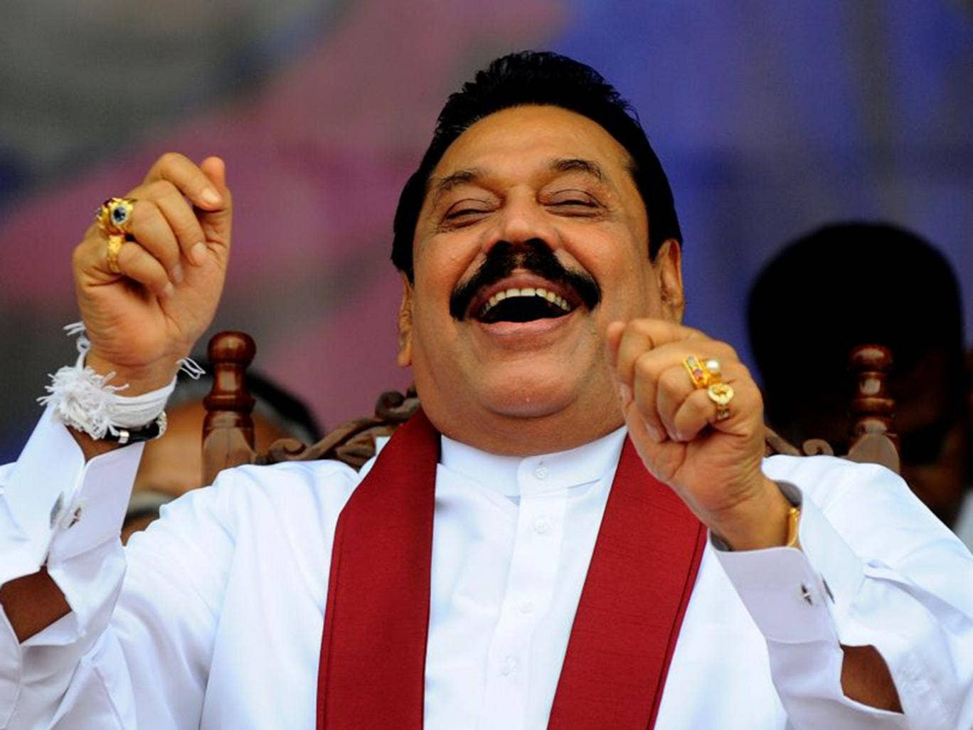 Sri Lanka\'s former leader Mahinda Rajapaksa is no longer \'untouchable\'