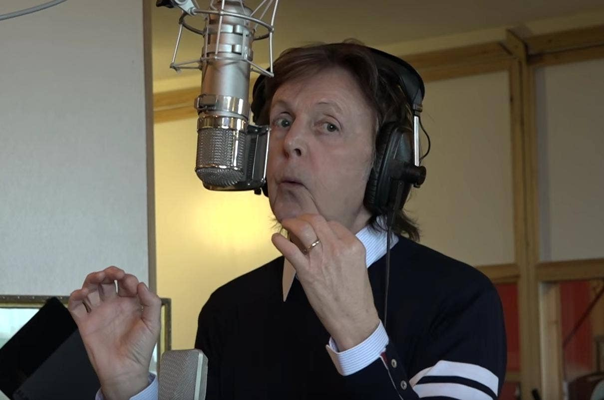 Image result for Paul McCartney  writing 2016