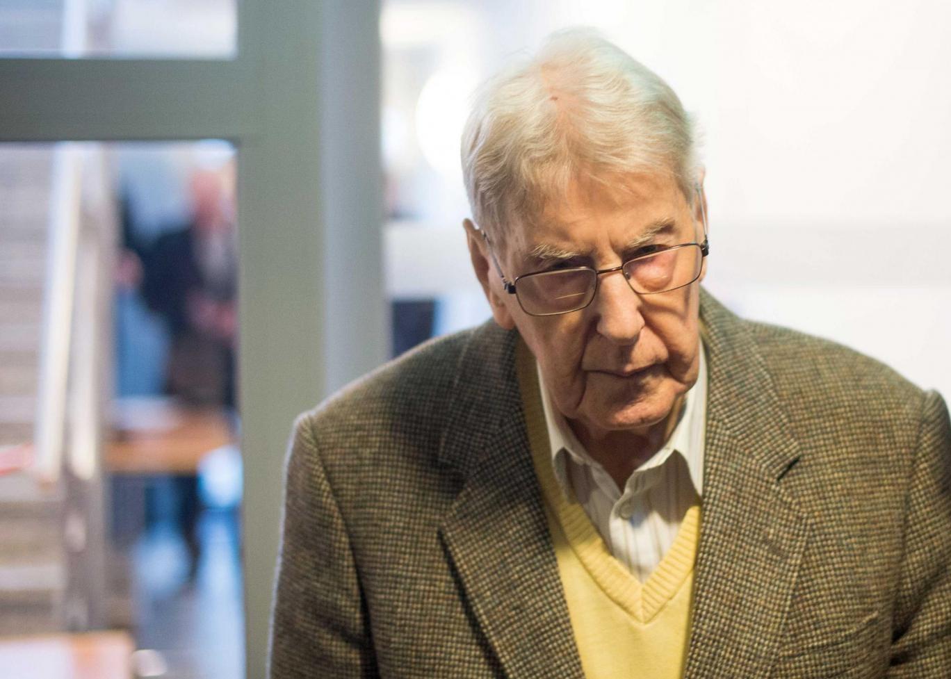 Holocaust survivor Justin Sonder reveals horrors of
