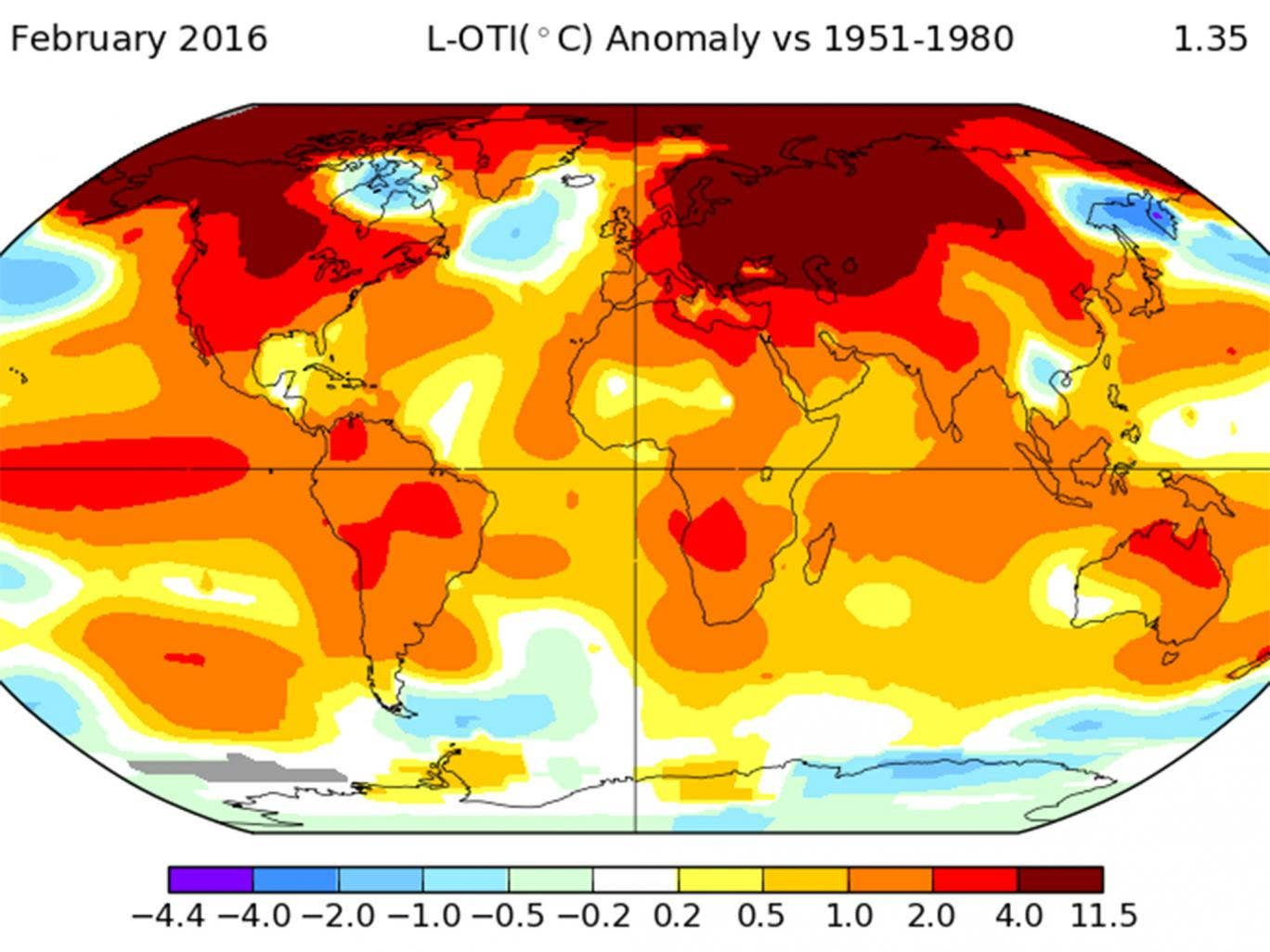 February smashes monthly world temperature records by 'shocking' amount as 'climate emergency' declared - Page 2 February-temperatures