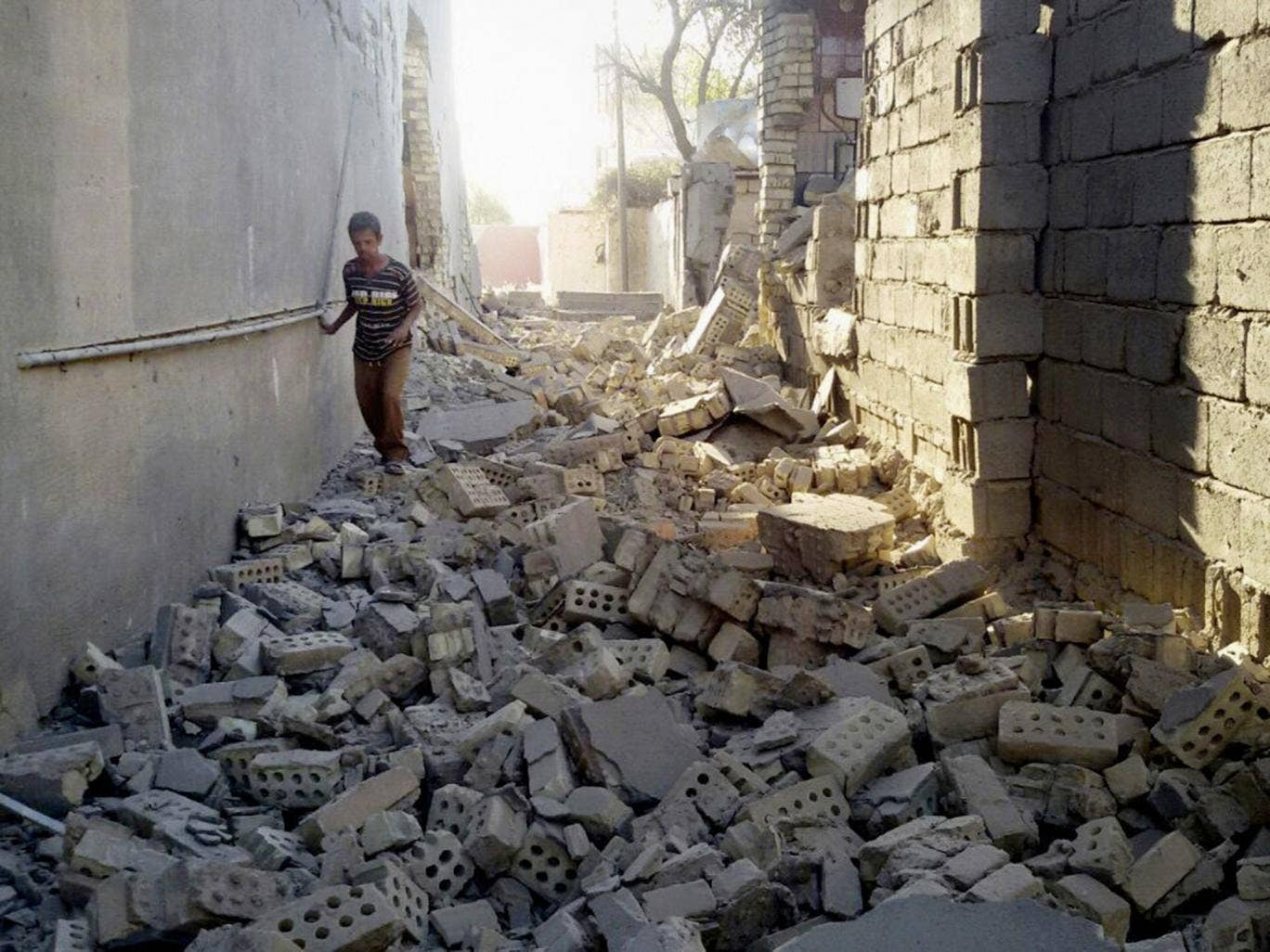Air strikes on Isis in Iraq and Syria are reducing their cities to ruins