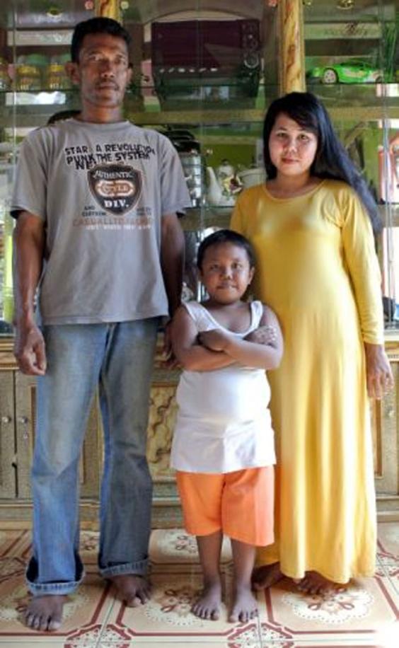 Ardi Rizal bersama orangtuanya