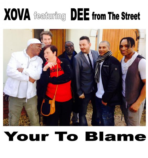 Dee with XOVA cd front.jpg