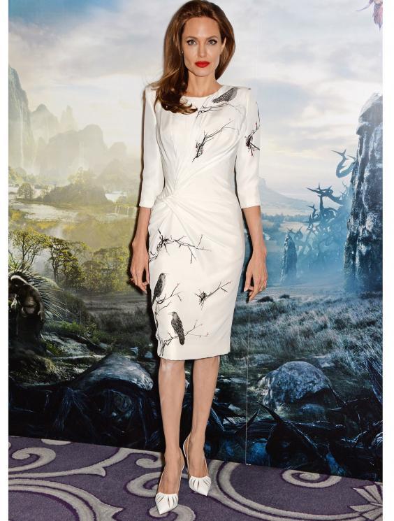 Angelina Jolie Nude Shoes 61