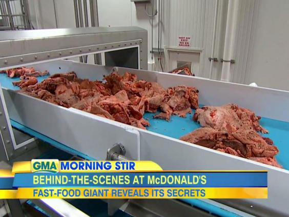 Mcdonald s answers pink slime and worm meat rumours by inviting