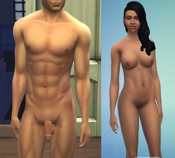 Nude skins for sims 2 - Nude Patch