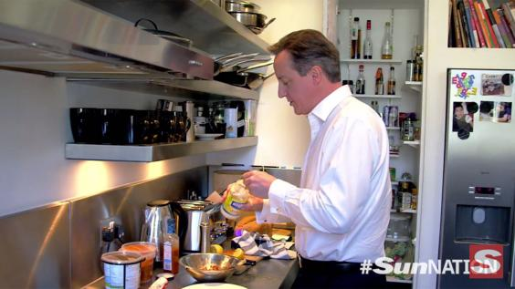 Inside David Cameron S Kitchen What We Learned From A Day
