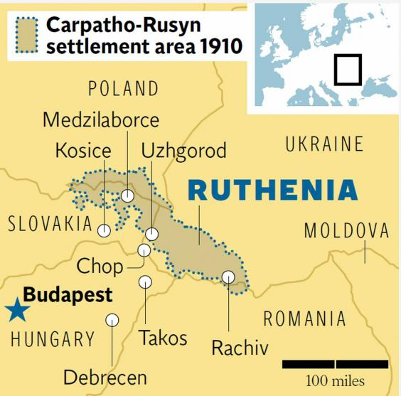 The Lost Nation Of Ruthenia A Journey Through No Man S