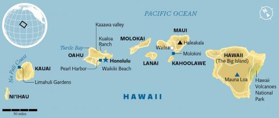 Hawaii S Eight Main Islands