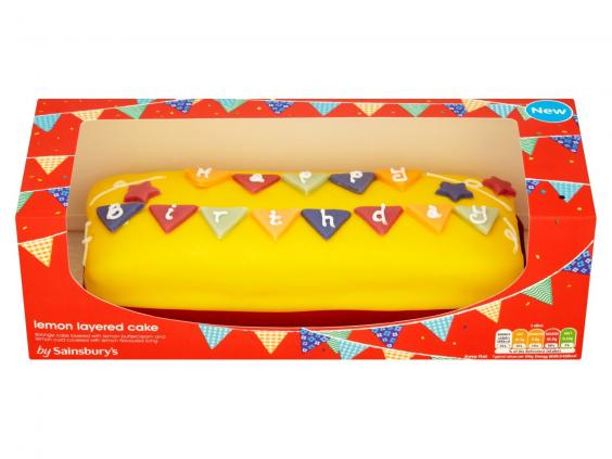 Tesco Birthday Cakes Available In Store