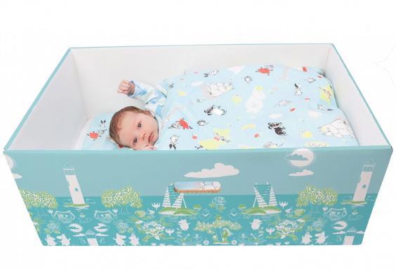 коробка для младенца