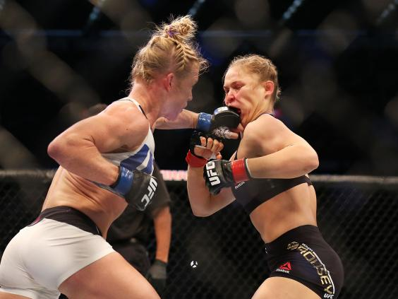 Holly Holm Knocks Out Ronda Rousey, Becomes Bantamweight Champ
