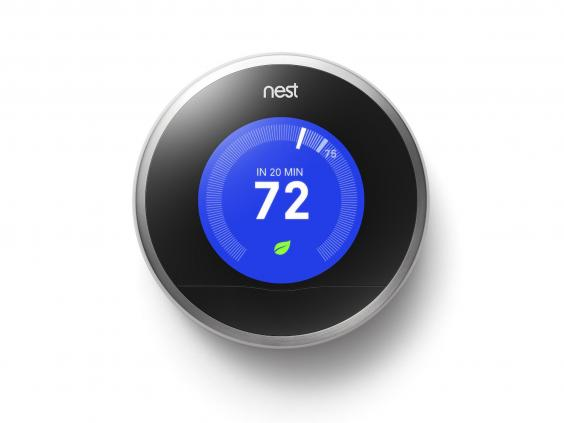 10 best smart home technology the independent - Nest thermostat stylish home temperature control ...