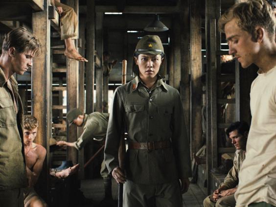 unbroken angelina jolie war film accused of being racist