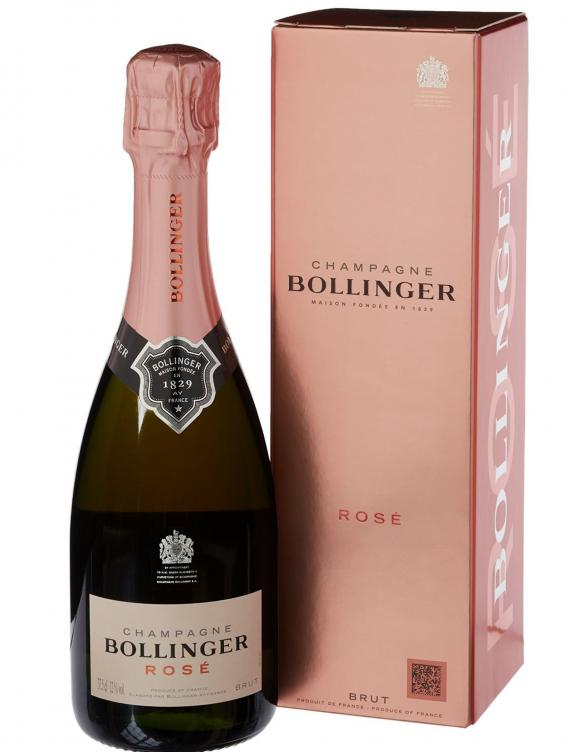 Bollinger Rose Non-Vintage Champagne in Gift Box 37.5 cl, Currently priced at £31- www.Amazon.co_.uk_.jpg