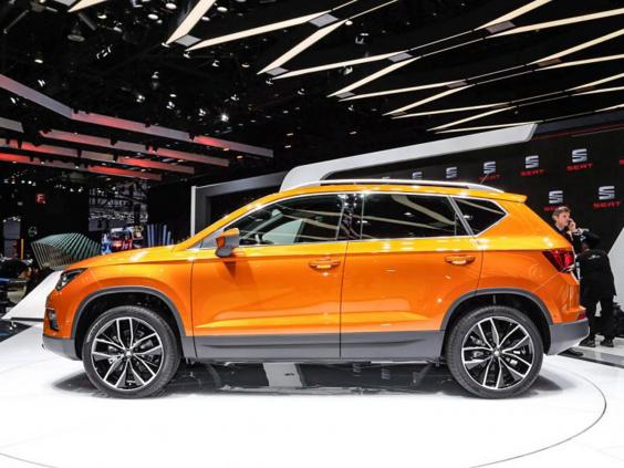 seat unveils ateca suv spain finally joins the 4x4 market motoring news lifestyle the. Black Bedroom Furniture Sets. Home Design Ideas