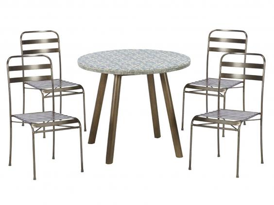 10 ruscha table and 4 chairs 479 barker stonehouse