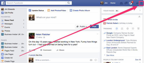 how to make a facebook page public 2016