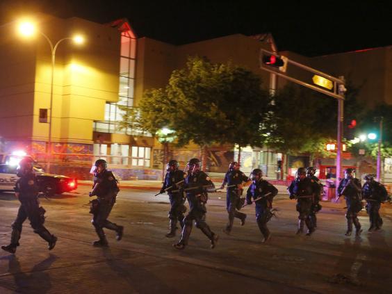 Violence Erupts At New Mexico Trump Rally