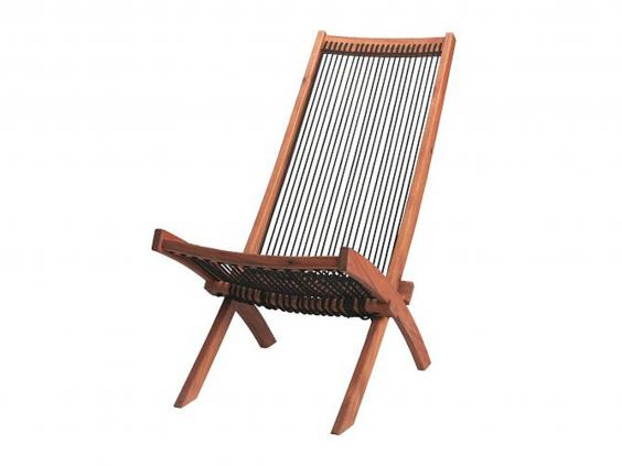 9 best deck chairs house garden extras the independent. Black Bedroom Furniture Sets. Home Design Ideas