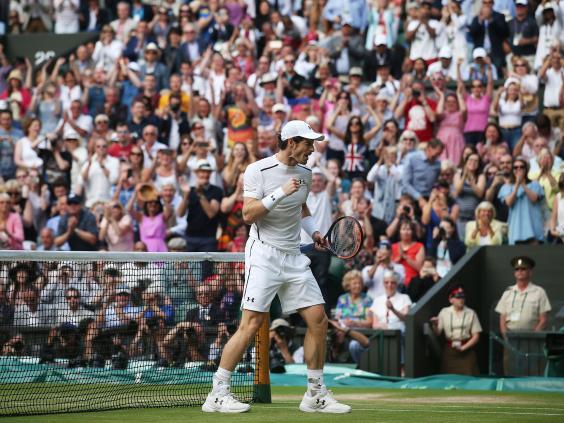 Murray wins epic five-setter