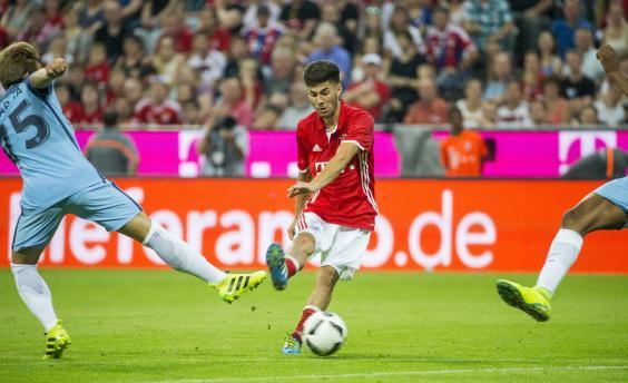Erdal Ozturk's deflected effort secured victory for Bayern against City