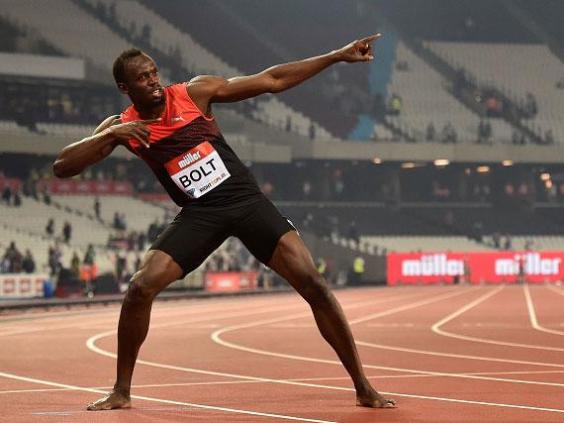 Usain Bolt and Kendra Harrison star at Muller Anniversary Games in London