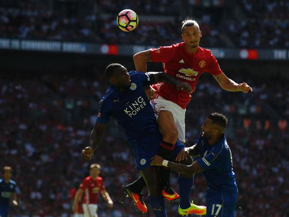 Ibrahimovic heads winner for Man United in Community Shield