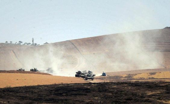 Anadolu Agency sees PYD/PKK base in northern Syria