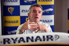 Holiday prices could soar next year, warns Ryanair boss