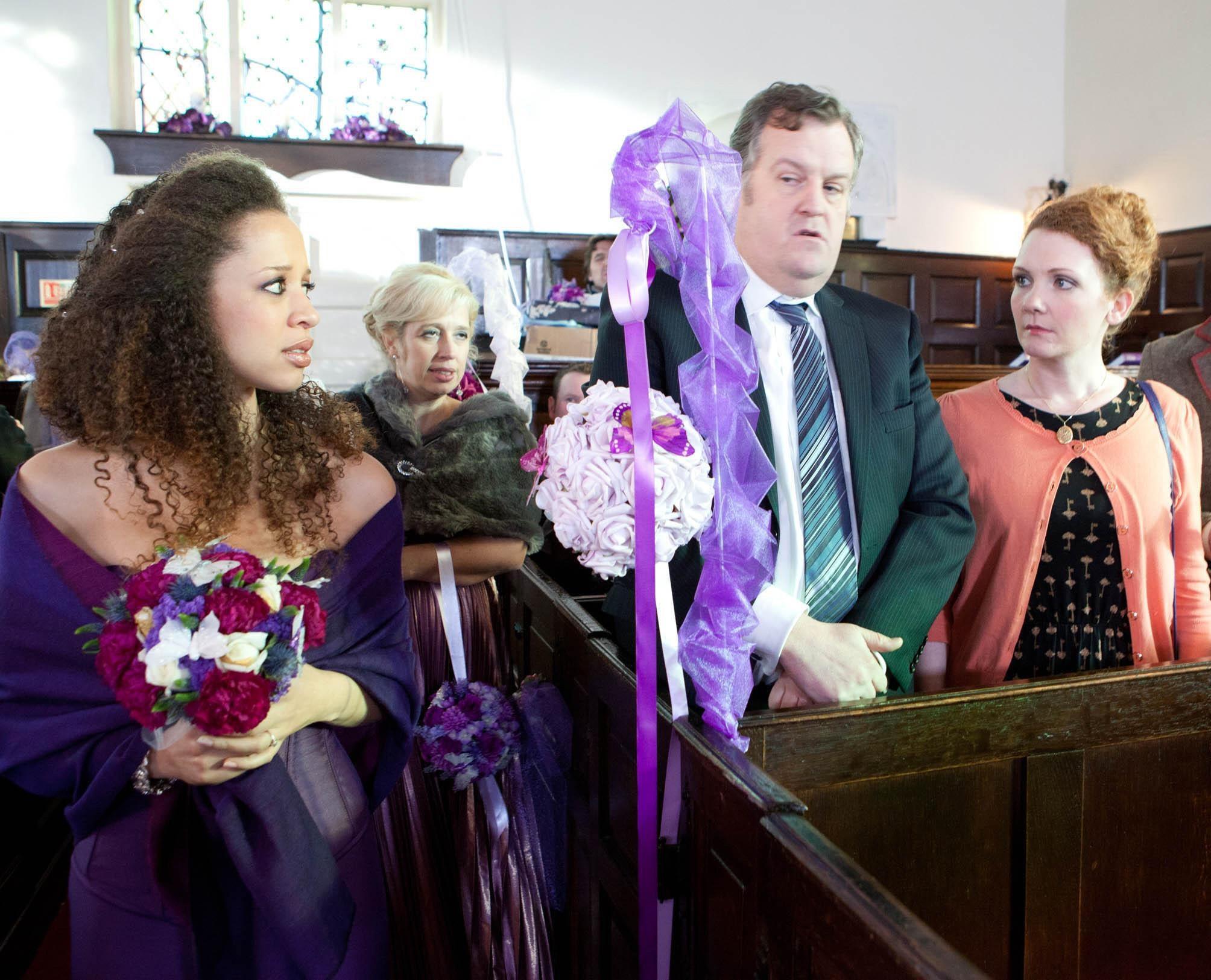 Coronation street kirsty wedding