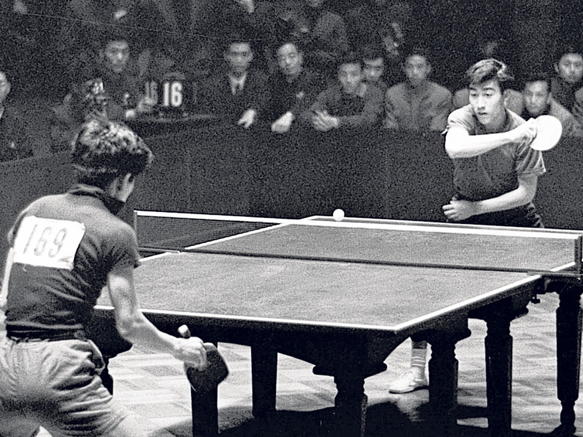 ping pong diplomacy A friendship match is held at the headquarters of the united nations in  commemoration of the china-us ping-pong diplomacy, 45 years after.