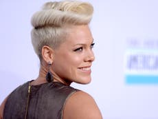 Pink named UK's most played female artist of the 21st century ahead of Madonna, Adèle