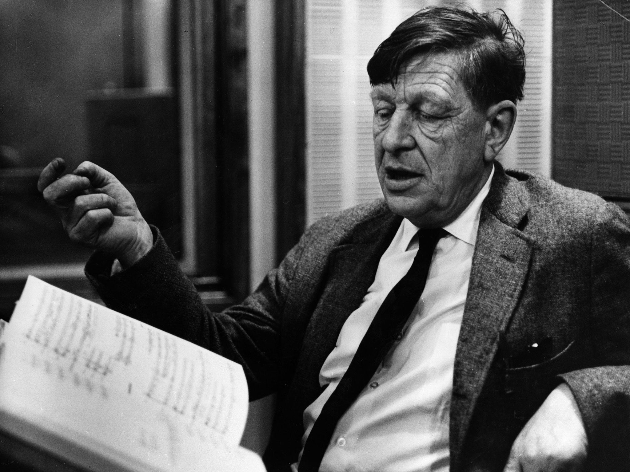 examining w h auden and the Wh auden faber & faber 0 items  part poetry and part reportage,  examining how trauma becomes a part of the language we use, scott takes us back to our roots.