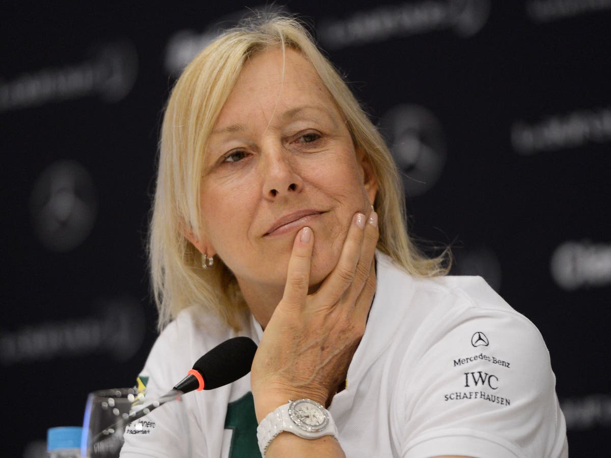 Naomi Osaka 'inadvertently made her situation worse', says Martina Navratilova in since-deleted tweet
