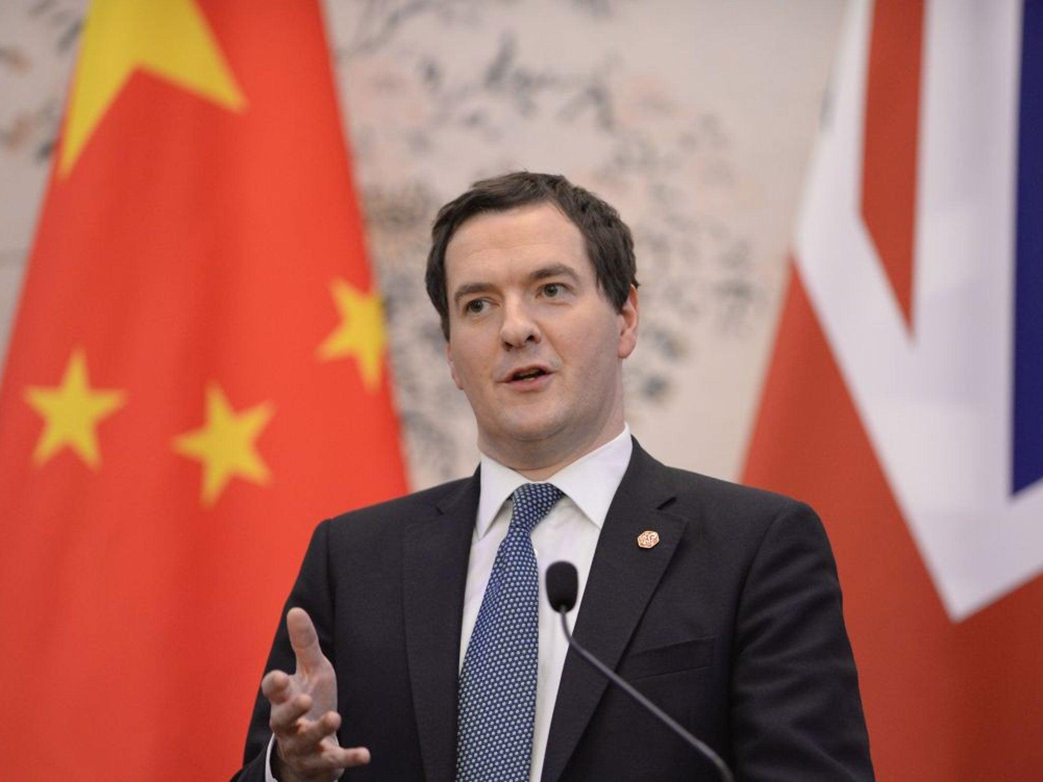 George Osborne China Nuclea