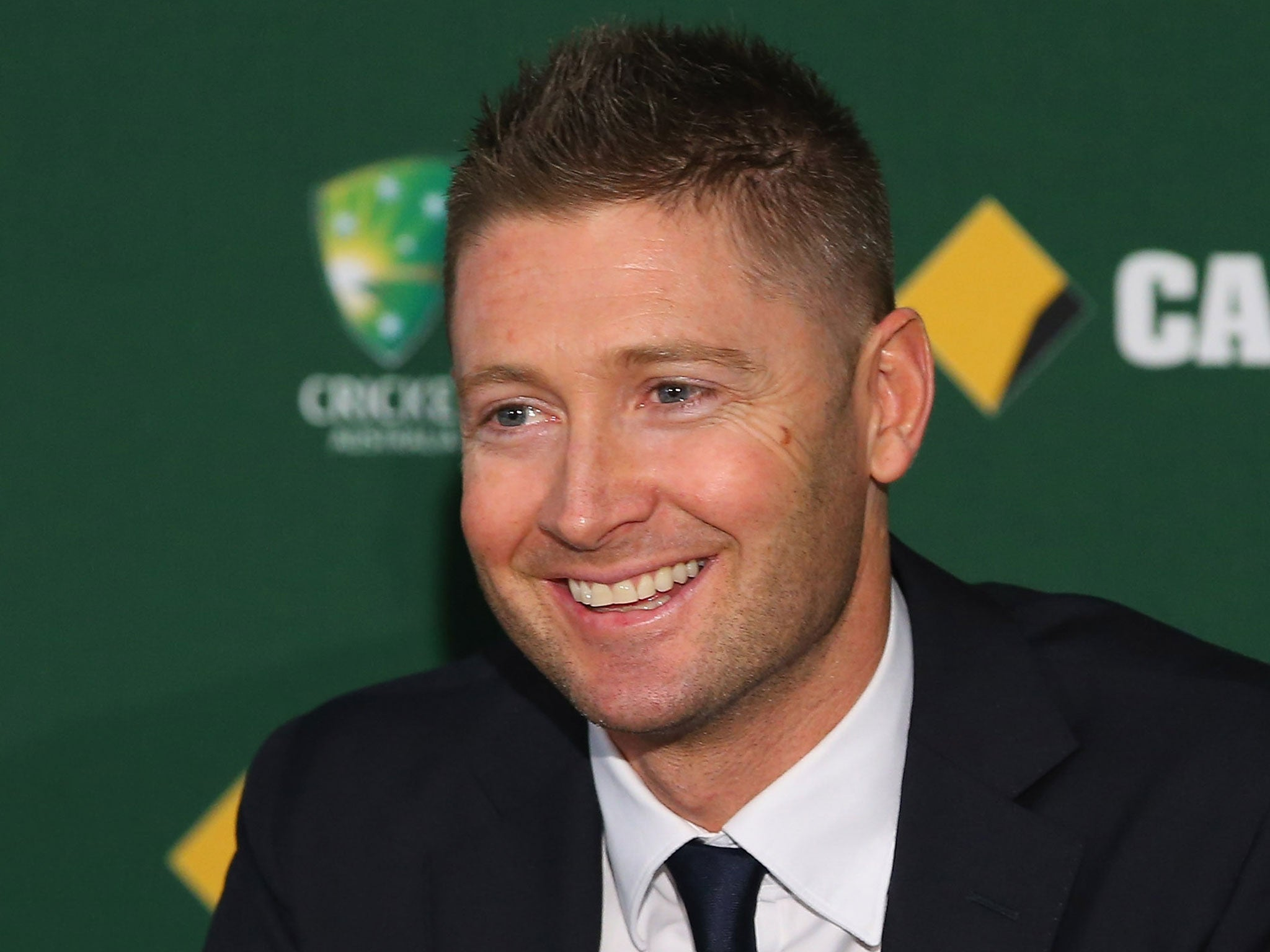 The Ashes 2013-14: Australia captain Michael Clarke begins the mind games by announcing England team for first Test | Cricket | Sport | The Independent - Michael-Clarke