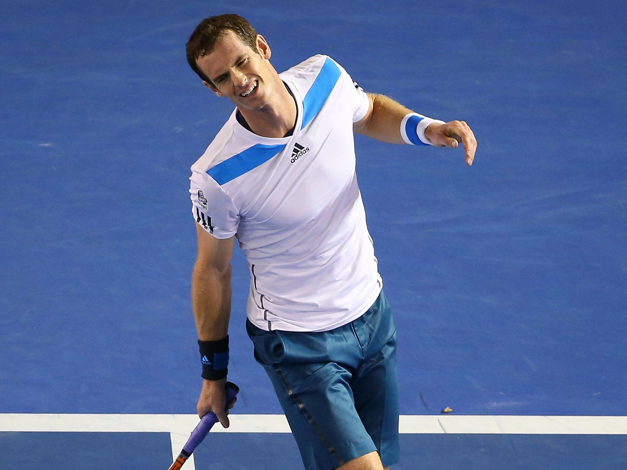 Federer Not Happy With Murray Murray