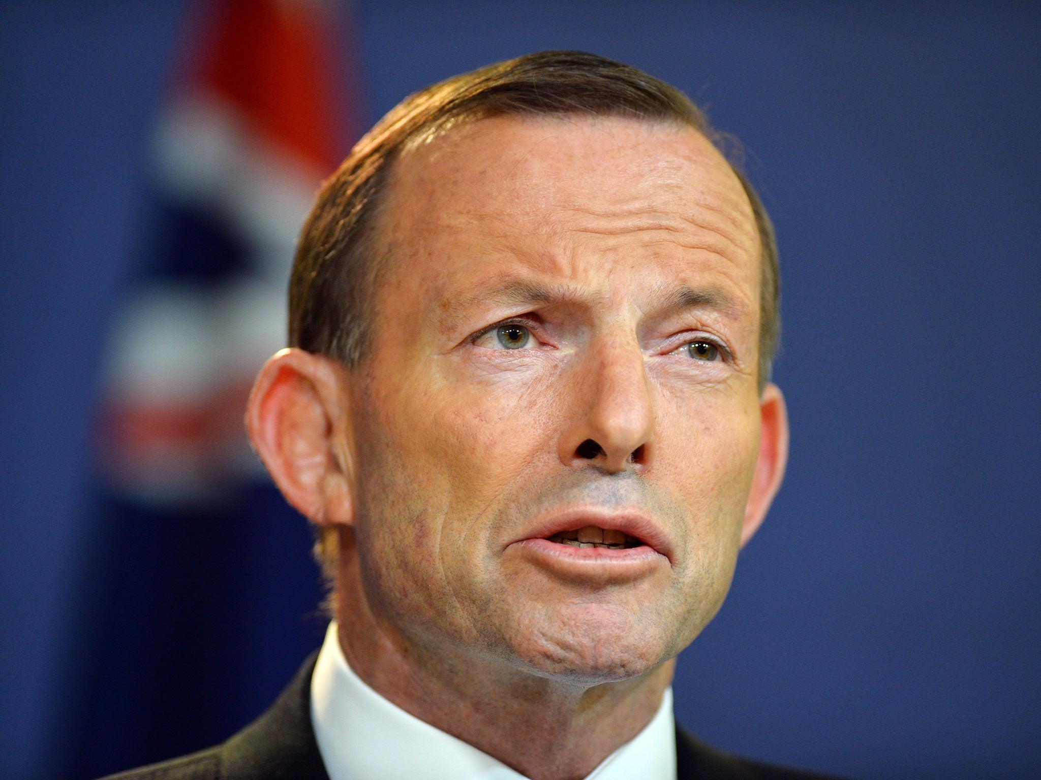 Scottish Independence: Australian PM Tony Abbott says 'No'   Scottish independence   News   The Independent - v2-Tony-abbott