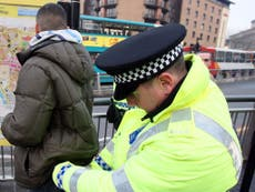 Police 'unable to explain' why officers use force and stop and search disproportionately on black people