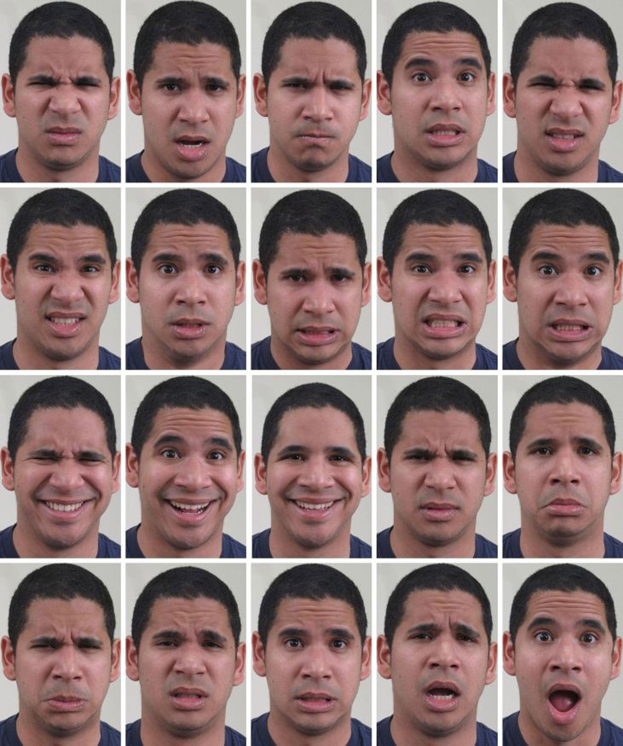 facial expressions dating The full-range of human emotion (appalled is not shown) pa if you ever have trouble reading someone's mood it could be because you haven't learned how to interpret the full range of human emotion from happy to disgustedly surprised, scientists have identified 21 different facial expressions.