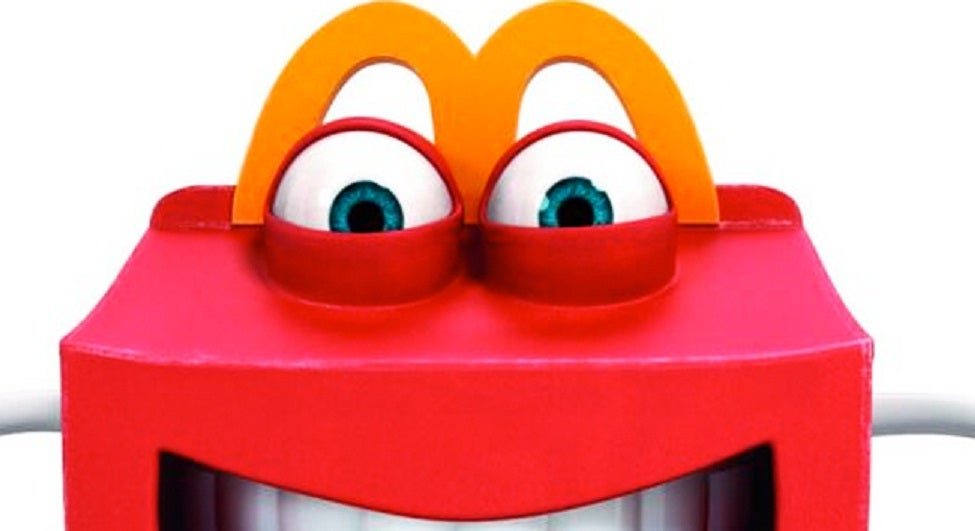 McDonalds introduces mildly terrifying Happy Meal mascot ...